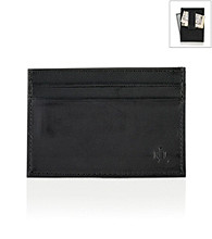 Lauren® Men's Black Burnished Leather Money Clip