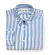 Van Heusen® Men's Blue Long Sleeve Regular Fit Dress Shirt
