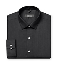 Kenneth Cole REACTION® Men's Black Long Sleeve Regular Fit Dress Shirt