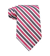 Calvin Klein® Men's Fuschia Stripe Tie
