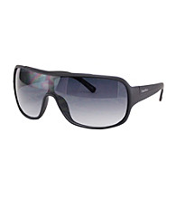 Perry Ellis Portfolio® Men's Black Shield Sunglasses