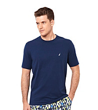 Nautica® Men's Short Sleeve Crewneck Night Shirt