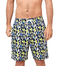 Nautica® Men's Journey Blue Bouy Print Knit Pajama Short