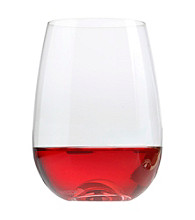 Oneida® Compose Set of 2 Stemless Wine Glasses