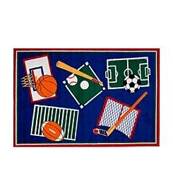 Fun Rugs® Fun Time® Sports-A-Rama Rug