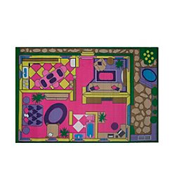 Fun Rugs® Fun Time® Dollhouse Rug