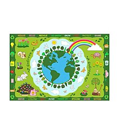 Fun Rugs® Fun Time® Go Green Rug