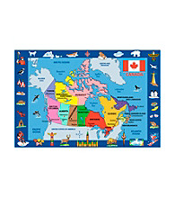 Fun Rugs® Fun Time® Map of Canada Rug