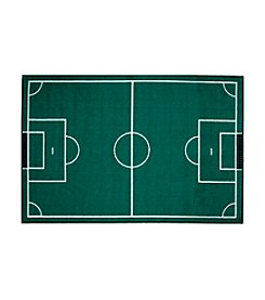 Fun Rugs® Fun Time® Soccerfield Rug