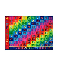 Fun Rugs® Fun Time® Addition Rug
