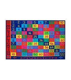 Fun Rugs® Fun Time® Multiplication Rug