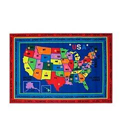 Fun Rugs® Fun Time® State Capitals Rug
