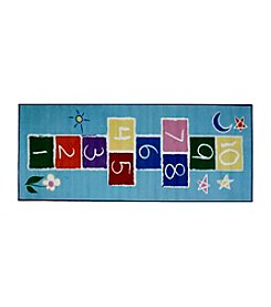 Fun Rugs® Fun Time® Primary Hopscotch Rug