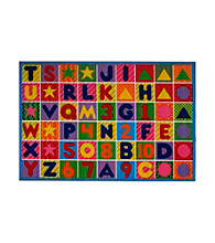 Fun Rugs® Fun Time® Numbers and Letters Rug