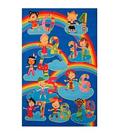 Fun Rugs® Fun Time® Kids and Numbers Rug