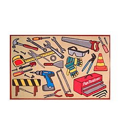 Fun Rugs® Fun Time® Toolbox Rug