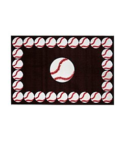 Fun Rugs® Fun Time® Baseball Time Rug