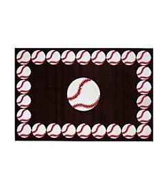 Fun Rugs® Fun Time® Baseball Time Rug
