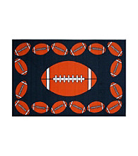 Fun Rugs® Fun Time® Football Time Rug