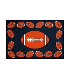 Fun Rugs® Fun Time® Football Time Rug