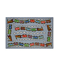 Fun Rugs® Fun Time® Edu Train Rug