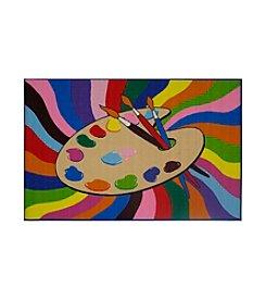Fun Rugs® Fun Time® Painting Time Rug