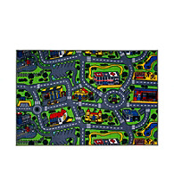 Fun Rugs® Fun Time® Driving Time Rug