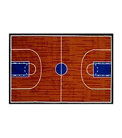 Fun Rugs® Fun Time® Basketball Court Rug