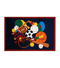 Fun Rugs® Fun Time® Sports America Rug