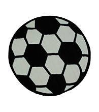 Fun Rugs® Fun Time® Soccerball Rug
