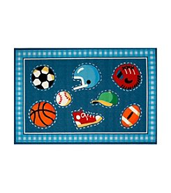 Fun Rugs® Olive Kids Go Team! Rug