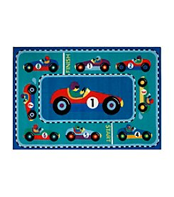 Fun Rugs® Olive Kids Vroom Rug