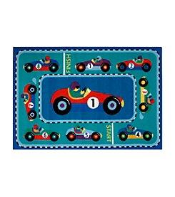 Fun Rugs® Olive Kids Vroom Rug
