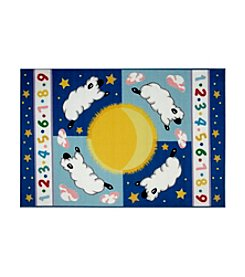 Fun Rugs® Olive Kids Sleepy Sheep Rug