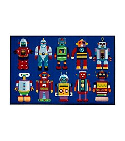 Fun Rugs® Olive Kids Go Robots Rug