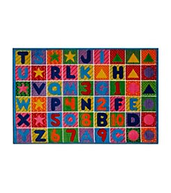 Fun Rugs®  Supreme Numbers and Letters Rug