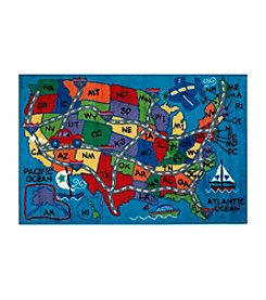Fun Rugs® Supreme Travel Fun Rug