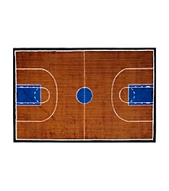 Fun Rugs® Supreme Basketball Court Rug