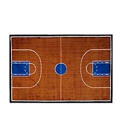 Fun Rugs® Supreme Basketball Court Rug