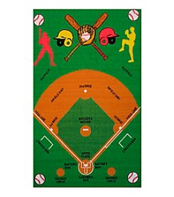 Fun Rugs® Fun Time® Baseball Field Rug