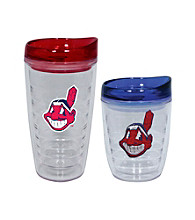 TNT Media Group Cleveland Indians Slimline Tumbler with Color Lid