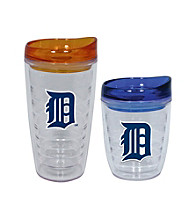 TNT Media Group Detroit Tigers Slimline Tumbler with Color Lid