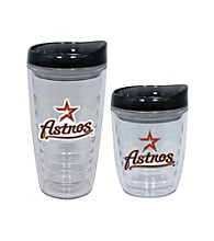 TNT Media Group Houston Astros Slimline Tumbler with Color Lid