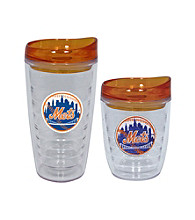 TNT Media Group New York Mets Slimline Tumbler with Color Lid