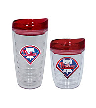 TNT Media Group Philadelphia Phillies Slimline Tumbler with Color Lid