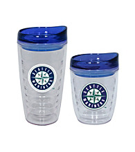 TNT Media Group Seattle Mariners Slimline Tumbler with Color Lid