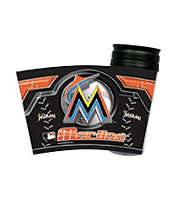 TNT Media Group Miami Marlins Insulated Travel Tumbler