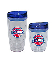 TNT Media Group Detroit Pistons Slimline Tumbler with Color Lid