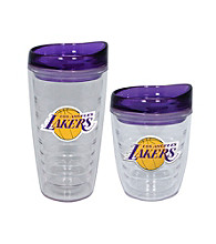 TNT Media Group Los Angeles Lakers Slimline Tumbler with Color Lid