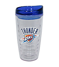 TNT Media Group Oklahoma City Thunder 16oz Slimline Tumbler with Color Lid